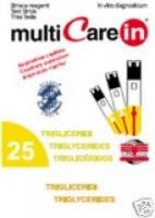Triglyceride Teststreifen für MultiCare IN 28,00¤
