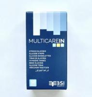 50x Blutzucker Teststreifen für MultiCare IN